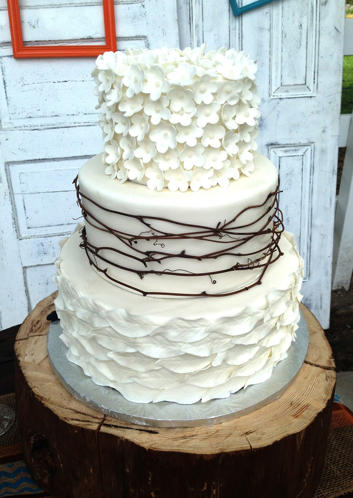 The Cake Market: Rustic Wedding Cake