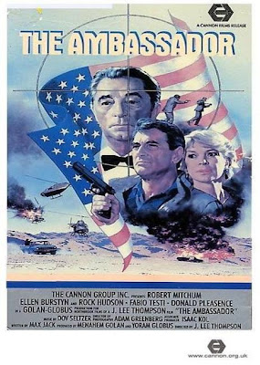 The Ambassador (movie released in 1984) - Starring Robert Mitchum, Ellen Burstyn and Rock Hudson