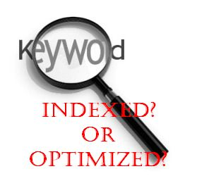 google index-SEO-keyword research-blog optimization