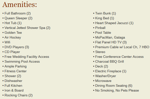 Gatlinburg falls our cabin stay was amazing check out my for Kitchen amenities list