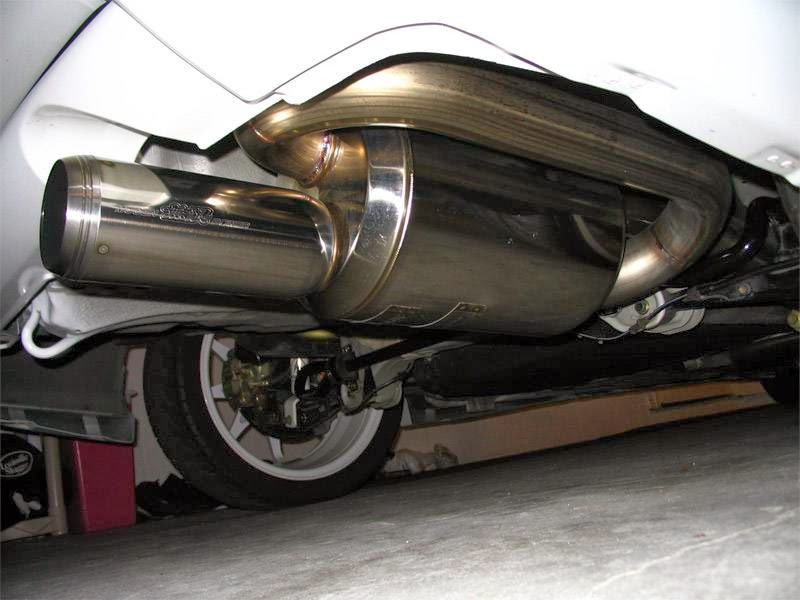 Speedgear Racing Jdm Mugen Style Twin Loop Muffler Exhausts