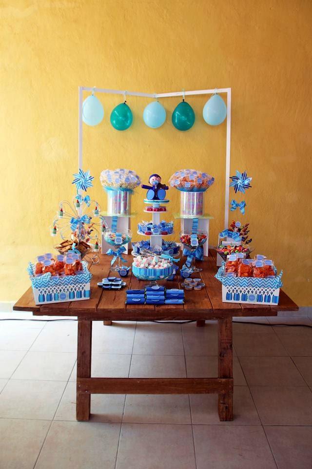 mesa de dulces babyshower