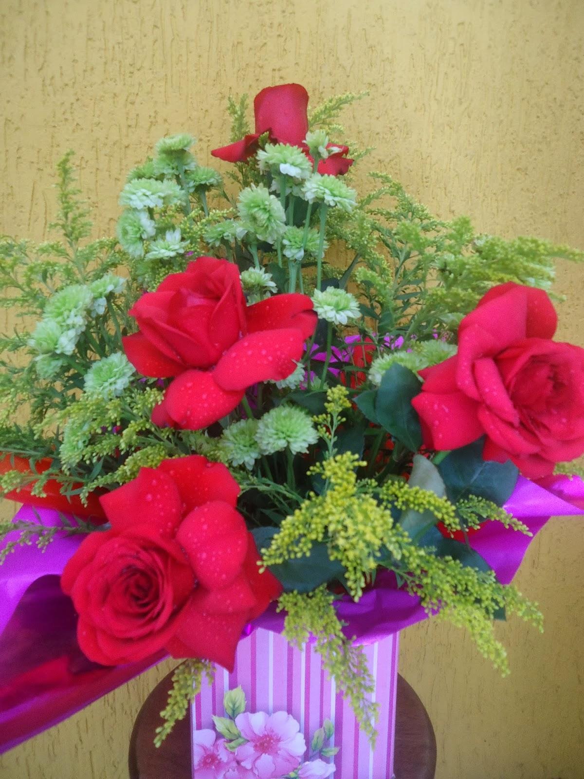 Ideias de arranjos de flores criativos MdeMulher - Fotos Arranjos De Flores Naturais