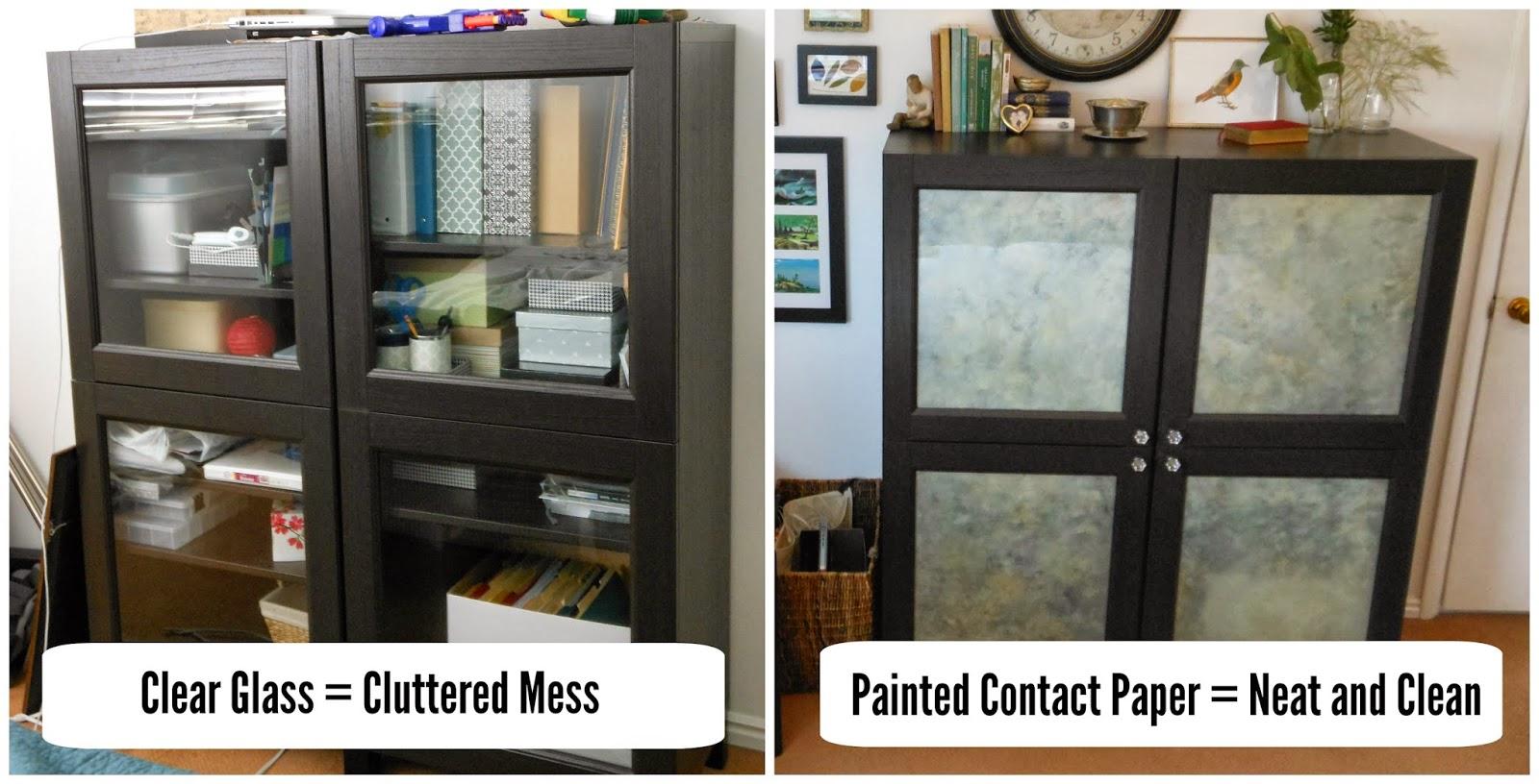 alter glass cabinet doors