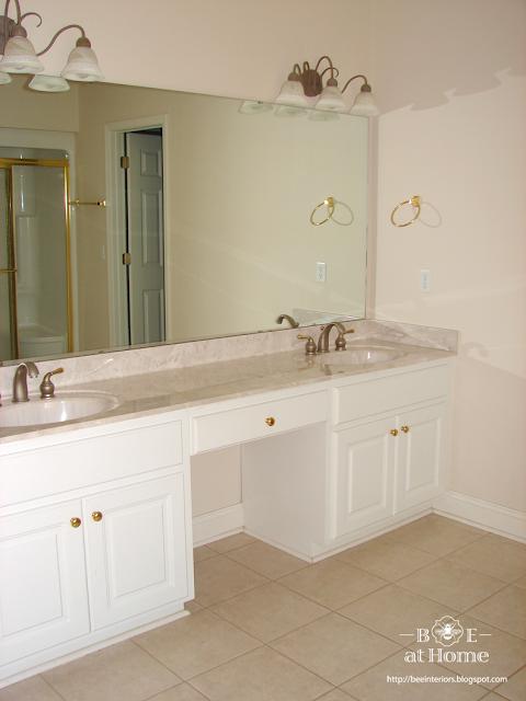 Upcycled Bathroom Vanity Lights : B.E. Interiors: Upcycled Vanity Light