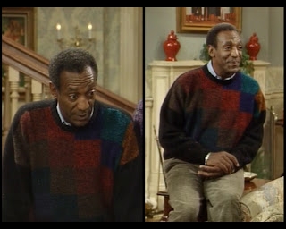 Cosby Show Huxtable fashion blog 80s sitcom Cliff Bill Cosby