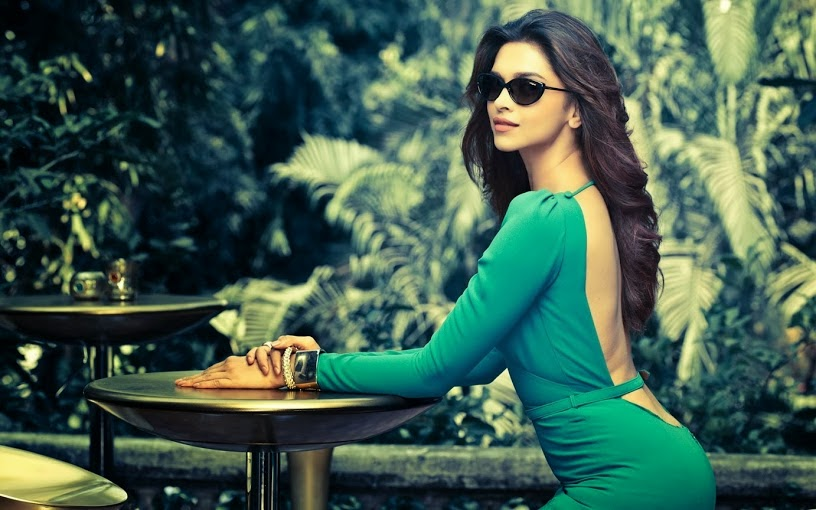 Deepika-Padukone-bending-her-ass-in-green-dress-in-vogue-eyewear