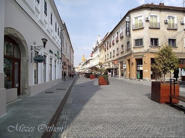 nagyvárad látnivalók nevezetességek sétáló utca