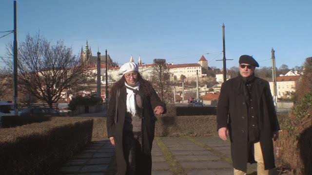 Mario y Liseth Fattorello en Praga