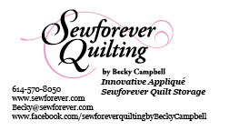 Sewforever Quilting by Becky Campbell