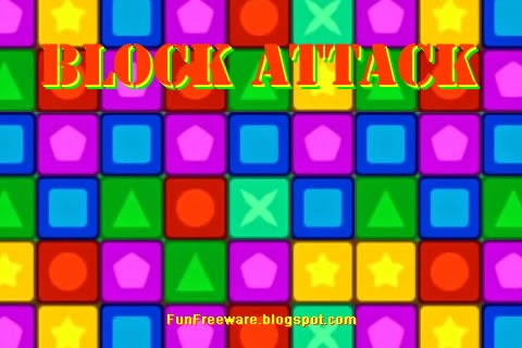 Block Attack Freeware Game Screenshot Image