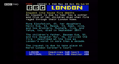 BBC Ceefax London News 160-169