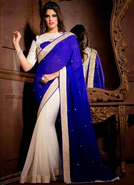 Indian Formal Fancy Sarees for modern girls