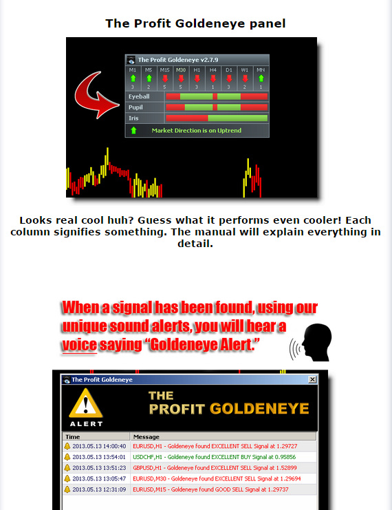 The profit goldeneye forex system