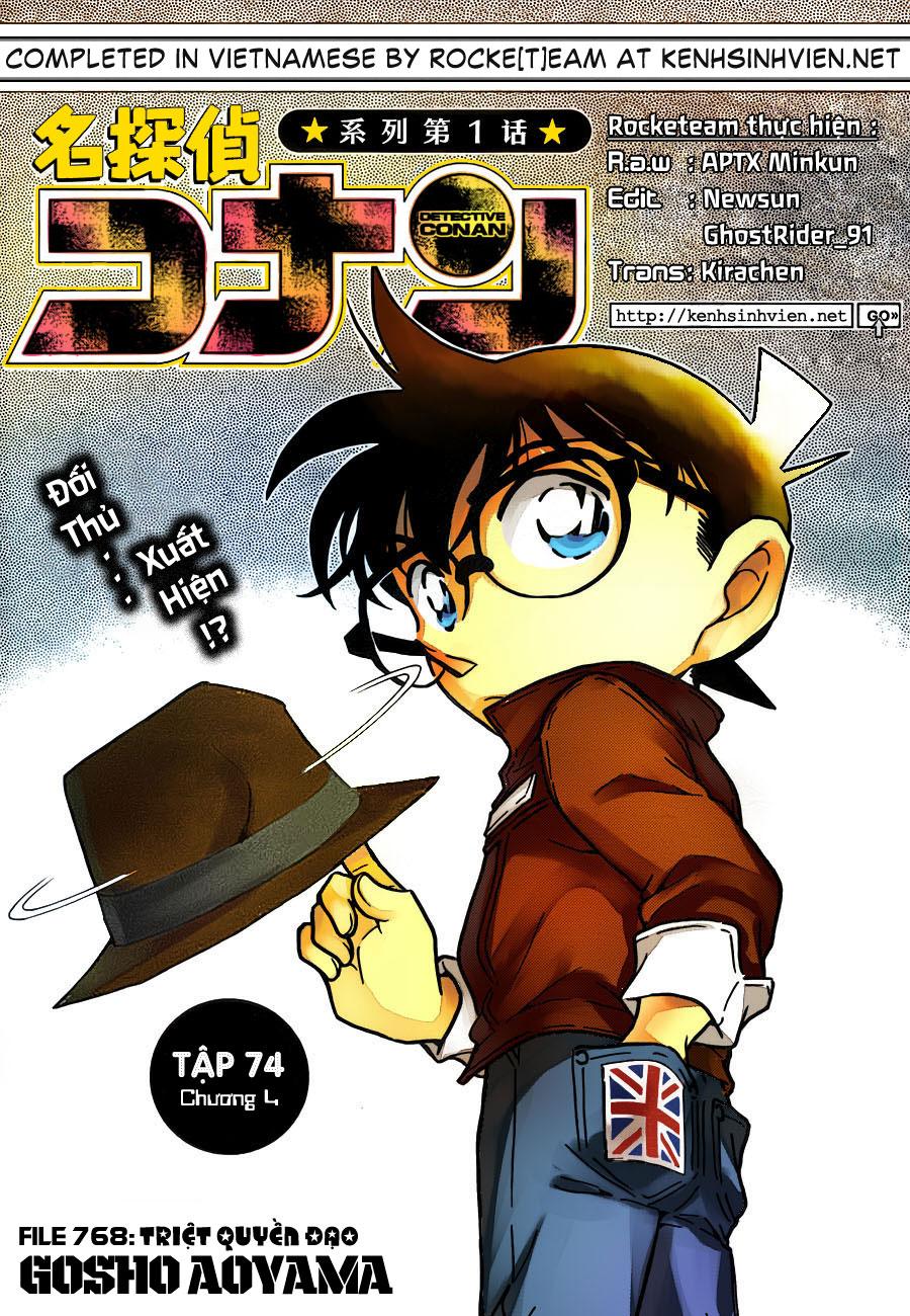 Detective Conan - Thám Tử Lừng Danh Conan chap 768 page 1 - IZTruyenTranh.com