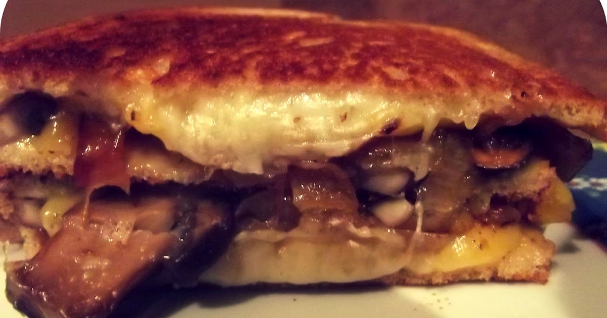 Ryan Is Baking: Grilled cheese sandwich with sauteed ...