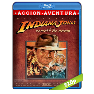 Indiana Jones 2 (1984) BRRip 720p Audio Trial Latino-Castellano-Ingles 5.1