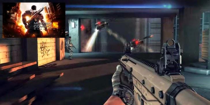 Modern Combat 5: Blackout Yayında, Modern Combat 5: Blackout İndir