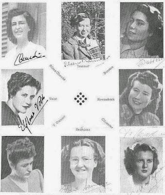 Ajedrecistas participantes en el Torneo Internacional de Ajedrez Femenino Barcelona 1949