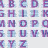 letras maiúsculas