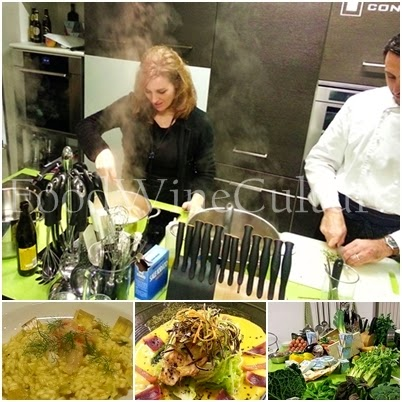 Food Wine Taste al Cooking Class con lo Chef Massimo Moroni presso Congusto Gourmet Institute