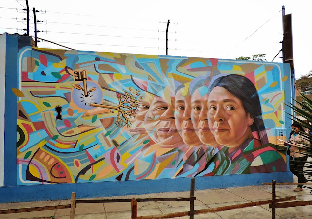Street Art By El Decertor For Umano Project On The Streets Of Lima, Peru. 1