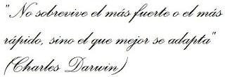 Cita de Darwin