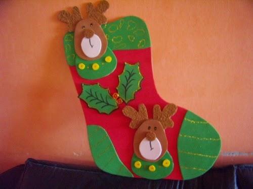 imagen de lindas botitas de navidad
