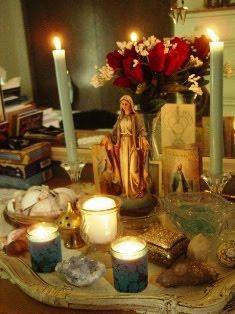 Goddess Mary Altar