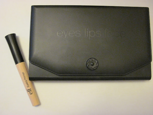 e.l.f. Christmas Makeup Clutch Palette and Eyelid Primer review