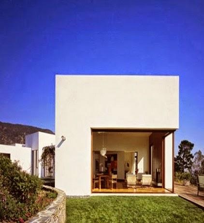 Contoh Gambar Desain Model Rumah minimalis Modern Bergaya Eropa