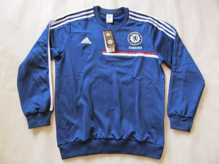 Sweater GO Training Chelsea Blue 2014 Terbaru Big Match Jersey