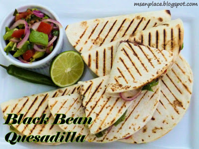 Black Bean Quesadillas | Ms. enPlace