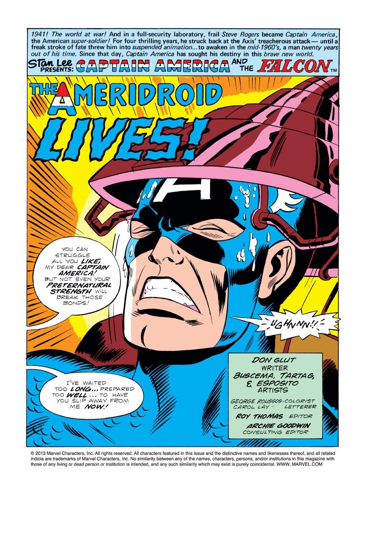 Captain America (1968) Issue #220 #134 - English 2