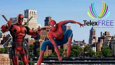 Homem-Aranha cai no golpe da Telexfree