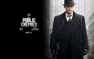 Johnny Depp in Public Enemies Movies Wallpaper
