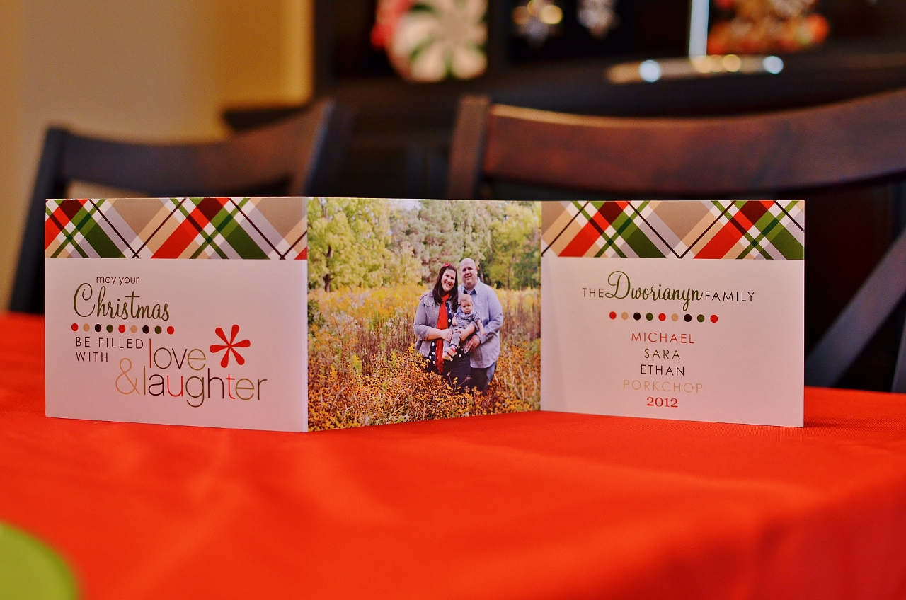 Dworianyn love nest 25 days of christmas day 14 greeting cards the actual card m4hsunfo