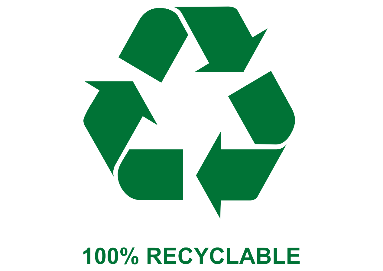 Recyclable Logo Vector download free