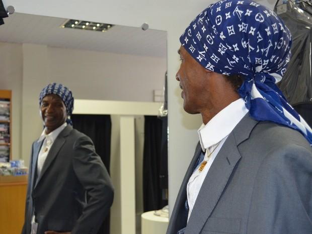 Madalena: 'Quando me olho no espelho, vejo um homem de muita coragem' (Foto: Thomaz Fernandes)