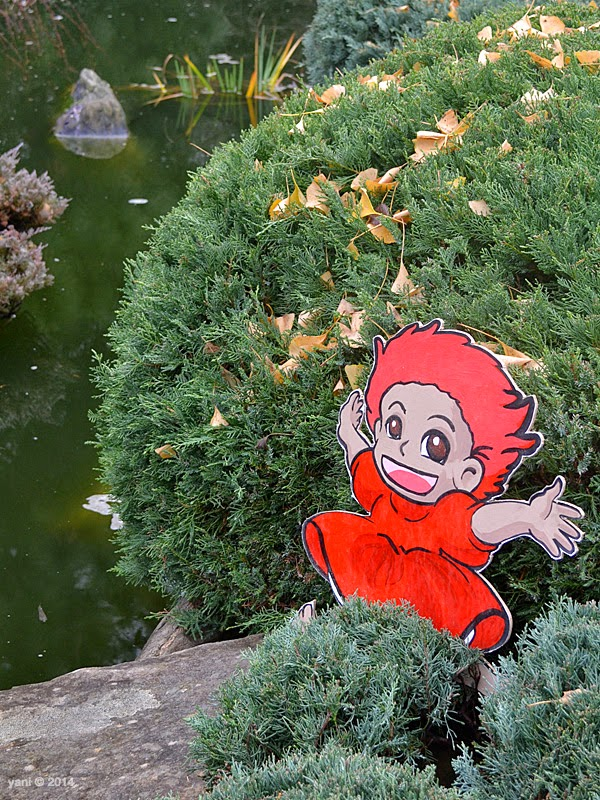 spirited by espionage gallery - ponyo the goldfish princess