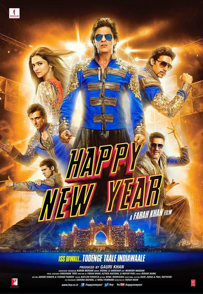 Happy New Year (2014) Mp3 Songs - Free Download Bollywood Movie Songs.