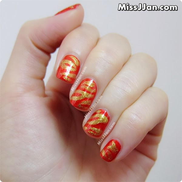 Missjjans Beauty Blog The Hunger Games Catching Fire Nails