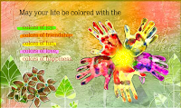 Happy Colorful holi greetings