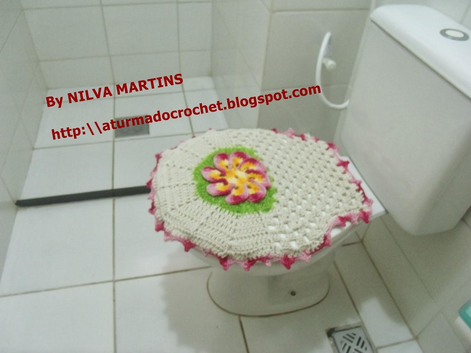 TURMA DO CROCHET: JOGO DE BANHEIRO EM CROCHÊ LUXO. TAMPA DO VASO #A47527 1600x1200 Acessorios Para Banheiro De Luxo