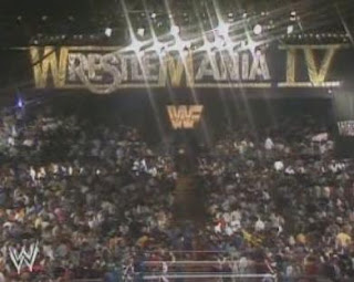WWF / WWE WRESTLEMANIA 4: The live Wrestlemania crowd