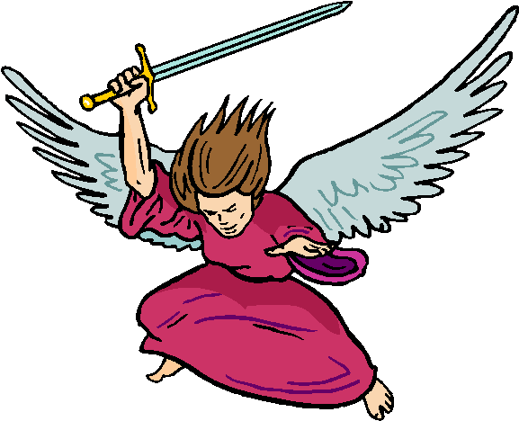 Warrior Angel Free Clipart