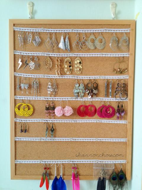 DIY Lace Earrings Board