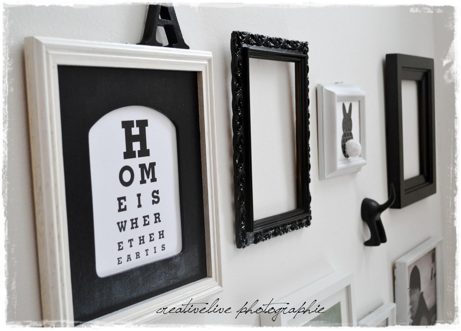 fotowand schwarz wei creativlive. Black Bedroom Furniture Sets. Home Design Ideas