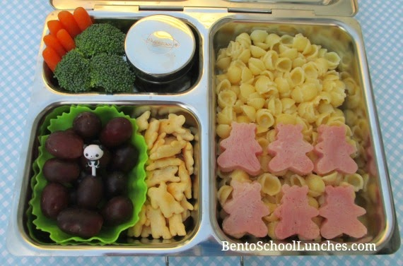 Organic shells mac & cheese, bento school lunches, planetbox launch review