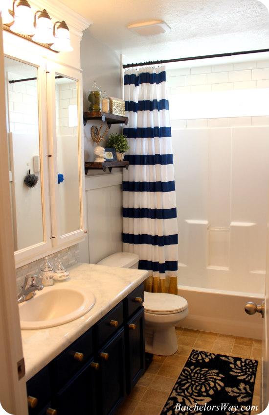 Crisp Modern Bathroom Remodel On A Budget